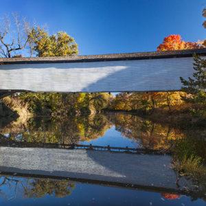 Union Covered Bridge Reflections