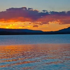 Abiquiu Sunset I