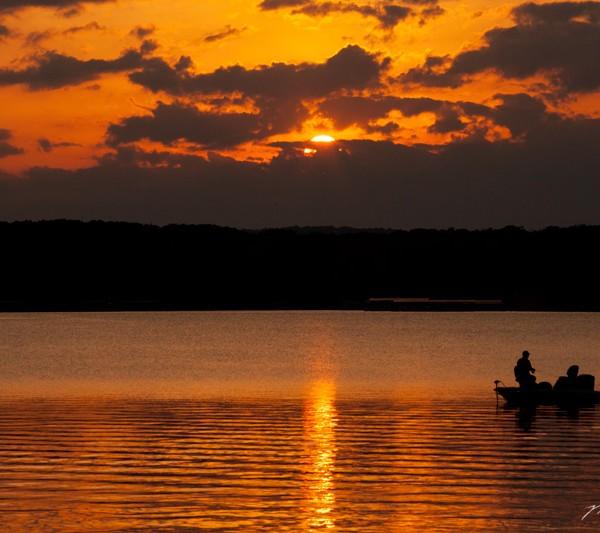 Sunset On Table Rock Lake
