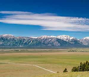 Teton Valley Pano