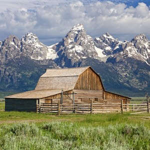 Tetons Moultan Barn