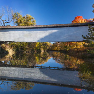 Union Covered Bridge Reflections