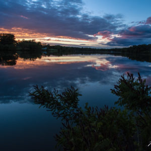 Shelbina Lake Sunset-1