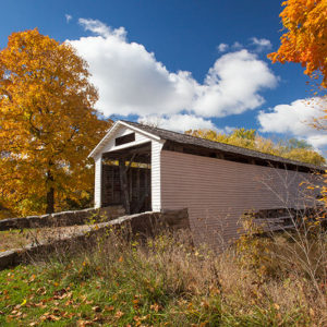Autumn Union Covered Bridge