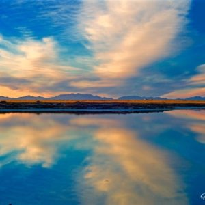 Holloman Lake Reflections