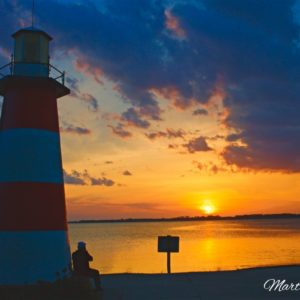 Mount Dora Lighthouse Sunset-1