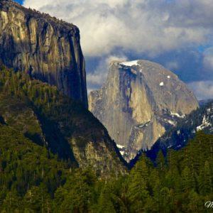 Yosemite Half Dome Window