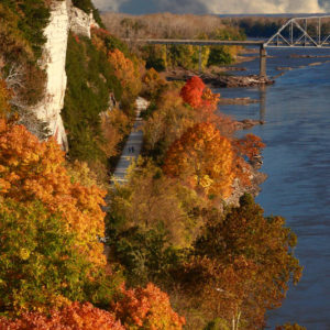 Autumn Missouri River Bluffs