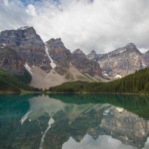 Alberta Rockies Lake Moraine Reflections