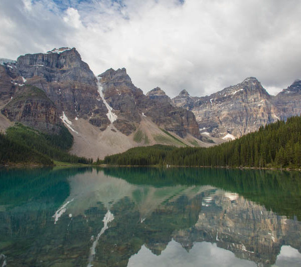 Alberta Rockies Lake Moraine Reflections