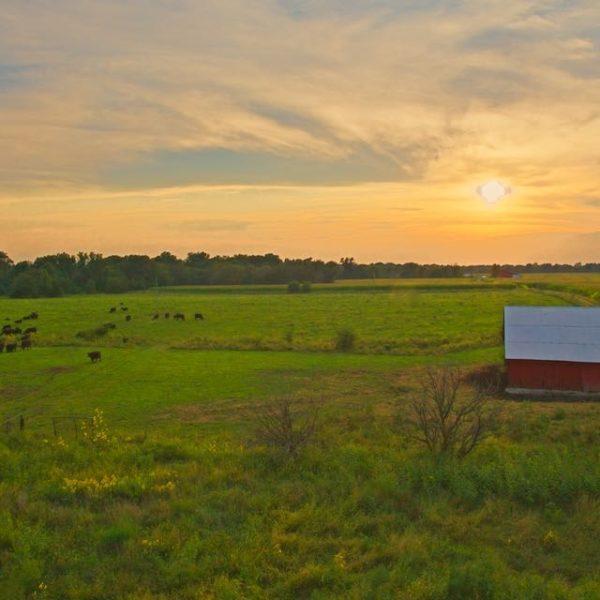 Sunset Over My Grandpas Barn II