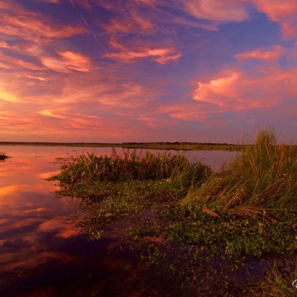 Emeralda Marsh Sunset