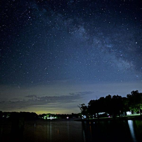 Starlight Milky Way Shelbina Lake