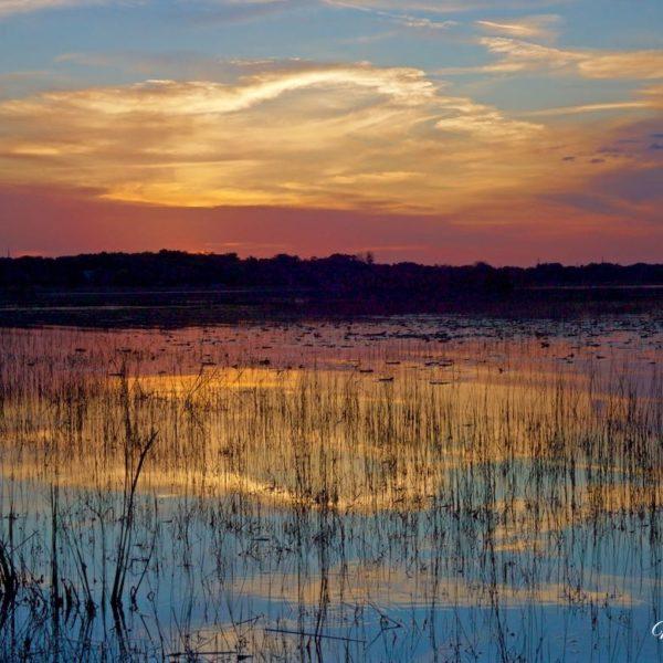 Siler Lake Arch Cloud Sunset