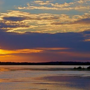 Emeralda Cloud Swirl Sunset 1x2