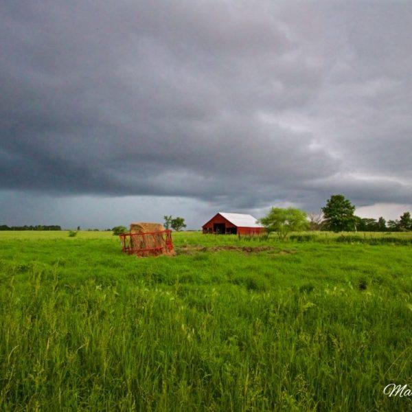 Storm Over Grandpas Barn