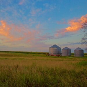 Meadow Grainery Sunset