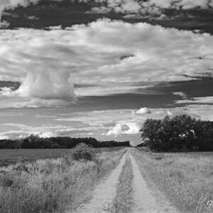 Country Road Anvil Cloud BW
